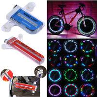 32 LED Bike Bicycle Cycling Rim Lights Wheel Spoke Light String Strip Lamp lot