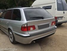 BMW E 39 Touring Rear Door Boot Trunk Spoiler Lip Wing Trim Lid M cover tailgate