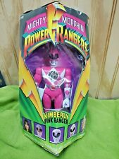 "Bandai Mighty Morphin Power Rangers 8"" KIMBERLY PINK RANGER  Triangle Box"