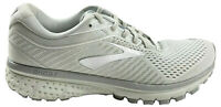 Brooks Ghost 12 Womens Running Shoes Oyster Alloy White Size 7.5 M 1203051B112