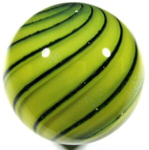 """Hot House Glass banded swirl marble 1.70"""" 43mm #163"""
