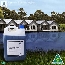 Aquatic Blue Pond Dye 5 Litre - Aquatic Weed & Algae Growth Suppressant