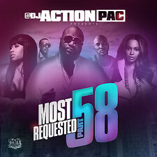 DJ ACTION PAC- MOST REQUESTED 58 (MIX CD) BOBBY SHMURDA, RICK ROSS, BEYONCE