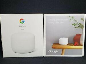 Google Nest WiFi Router AC2200 H2D 2nd Gen 2.4GHz/5GHz Snow White
