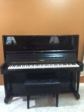 "Weinbach 48"" Upright Piano (Pre-owned) Mfg Czech Republic by Petrof."