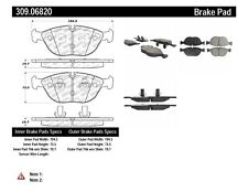 Disc Brake Pad Set-AWD Front Stoptech 309.06820