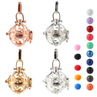 Silver/Gold Harmony Ball Cage Locket Pendant Essential Oil Diffuser Necklace