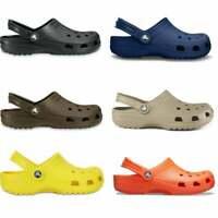 Crocs 10001 CLASSIC Unisex Womens Mens Spring Summer Soft Comfortable Clogs