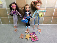 3 Beautiful Bratz Girl Dolls with Large Accessories Bundle