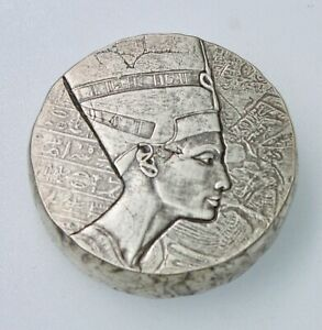 2017 5 oz .999 Silver Republic of Chad Queen Nefertiti by Scottsdale Mint