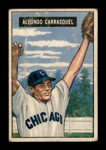 1951 Bowman Set Break # 60 Alfonso Carrasquel GD *OBGcards*