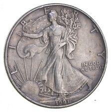 Better Date 1991 American Silver Eagle 1 Troy Oz .999 Fine Silver *196