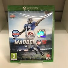 Madden NFL 16 - Xbox One - FACTORY SEALED - UK SELLER - FREE P&P