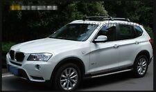 fit for BMW X3 F25 2011-2017 baggage luggage roof rack rail cross bar crossbar
