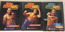 Hip Hop Abs 5 Workouts on 3 DVDs, fat blasting cardio exercise fitness, shaun T