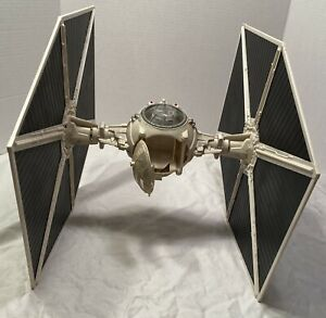 Star Wars 2003 White Imperial TIE FIGHTER Detachable Ends Hasbro Pre-Owned