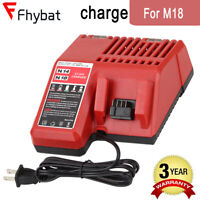 Replace For Milwaukee M18 18V 14V Li-Ion Battery Charger 48-59-1812 48-11-1840
