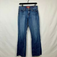 Lucky Brand Women's Size 8/29 Mid Rise Sofia Boot Blue Jeans EUC