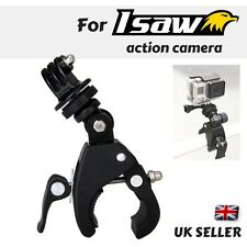 Bike Handle bar Mount Bicycle Clamp For Isaw Edge Air Advance Extreme Action Cam