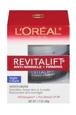 L'Oreal Skin Expertise RevitaLift Complete Night Cream Moisturizer - 1.7 oz.