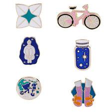 Fashion Enamel Brooch Collar Pin Wishing Bottle Bike Bicycle Shoes Pins Hot Sale