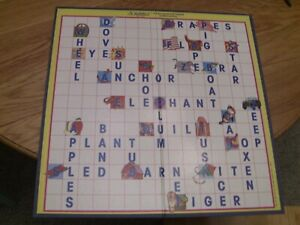 Scrabble Junior Jr Game Replacement Parts Pieces-Game Board