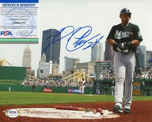 Miguel Cabrera Detroit Tigers PSA/DNA signed 8x10 authenticated photo autograph