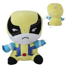 "Avengers X-MEN Wolverine 18cm/7.2"" Lovely Suction Plush Doll Toy New"