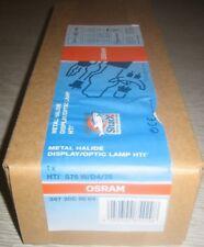 1*OSRAM HTI 575W/D4/75 NEU&OVP Rechnung Sfc-10 Sockel 7500K HMI MSR