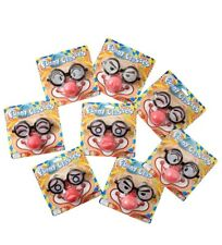 Funny Eye Glasses With Red Foam Nose - 9225 Disguise Clown Dress up Kids Fun Gag