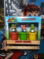 Nintendo Super Mario Body Wash Gift Box 3 Fruity Scents Luigi Mario and Yoshi