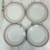 4 Vintage Restaurant Ware Luncheon Plates Sterling China Lamberton