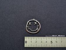 Nirvana Necklace stainless steel Smile Pendant merch logo symbol
