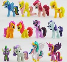 12X Bunte My Little Pony Puppe Princess Sammeln Action Figuren Spielzeug Gift