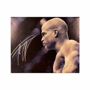 Tito Ortiz Signed 16x20 Canvas UFC Champion Autographed JSA COA