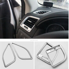 Car ABS Side Dashboard Air Outlet Vent Cover Trim Fit For Mazda CX-5 2012-2014