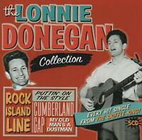 LONNIE DONEGAN - THE LONNIE DONEGAN COLLECTION - 5 CDS - NEW!!
