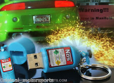 NITROUS USB - perfect for all JDM key chains - Supra Skyline 86 WRX EVO