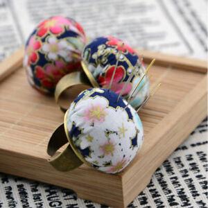 1PC Cute Ball Shaped DIY Craft Needle Pin Cushion Holder Sewing  Pincushio.DD
