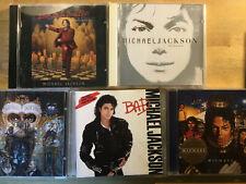 Michael Jackson [5 CD Alben] Bad + Blood Dancefloor + Invincible + Dangerous