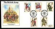 1983 BRITISH ARMY: British Army OFFICIAL FDC + BFPS 1983 SIGNED by Army Generals