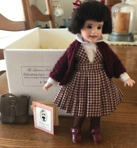 """Lawton *Educating Lucy* 9"""" Travel Doll Century of Scholars  - Edition of 100"""