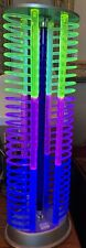 New listing Vintage Neon Cd Table Lamp 18 in tall, New In Original Box, Never Used