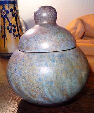 Pot couvert céramique la grange aux potiers René et Madeleine de Valence