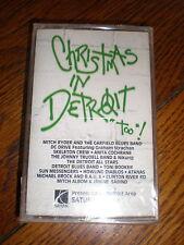 Christmas In Detroit Too CASSETTE various SEALED