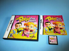 My Baby: First Steps Nintendo DS Lite DSi XL 3DS 2DS w/Case & Manual