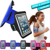 Sports Jogging Gym Running Armband Case Cover Holder for Various Mobile Phone UK
