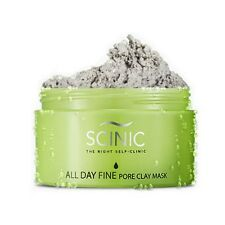 SCINIC All Day Fine Pore Clay Mask 100g/Amazonian White Clay Carbonic Acid Pack