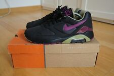 Nike Air Max 180 Black Purple Schwarz EU 42,5 US 9 UK 8 OG Retro Vintage