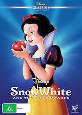 SNOW WHITE & THE SEVEN DWARFS (WALT DISNEY) - BRAND NEW & SEALED (REGION 4) DVD